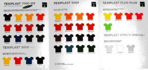 Paleta boja za tisak na tekstilu
