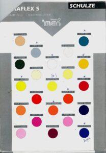 Paleta boja za folija za transfer na tekstil - Flock